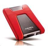 """A-DATA DashDrive™ Durable HD650 2,5"""" externý HDD 1TB USB 3.0 červený, vode a nárazom odolný"""