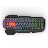 A4tech Bloody B318 CZ. Hráčska klávesnica, podsvietená, čierna