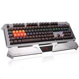 A4tech Bloody B740A CZ. Hráčska klávesnica, podsvietená, strieborná