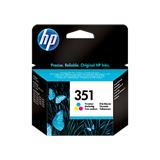 HP 351 Tri-colour Inkjet Print Cartridge with...